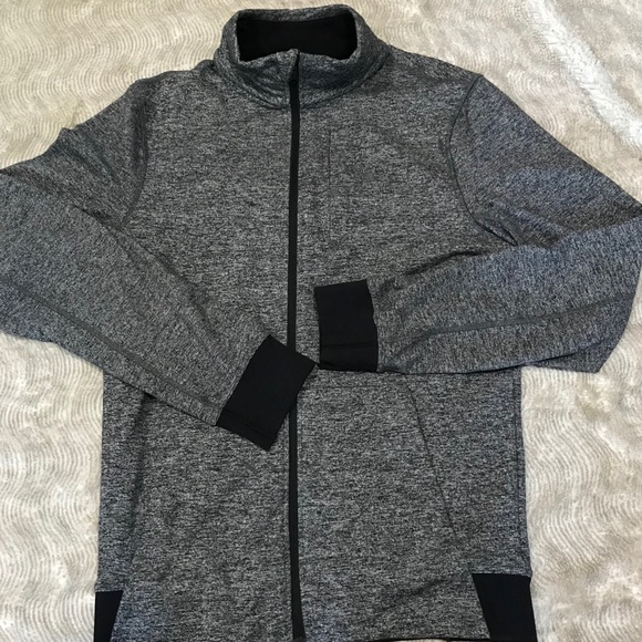 Lululemon Full Zip Warm Up/Cool Down Jacket Gray M